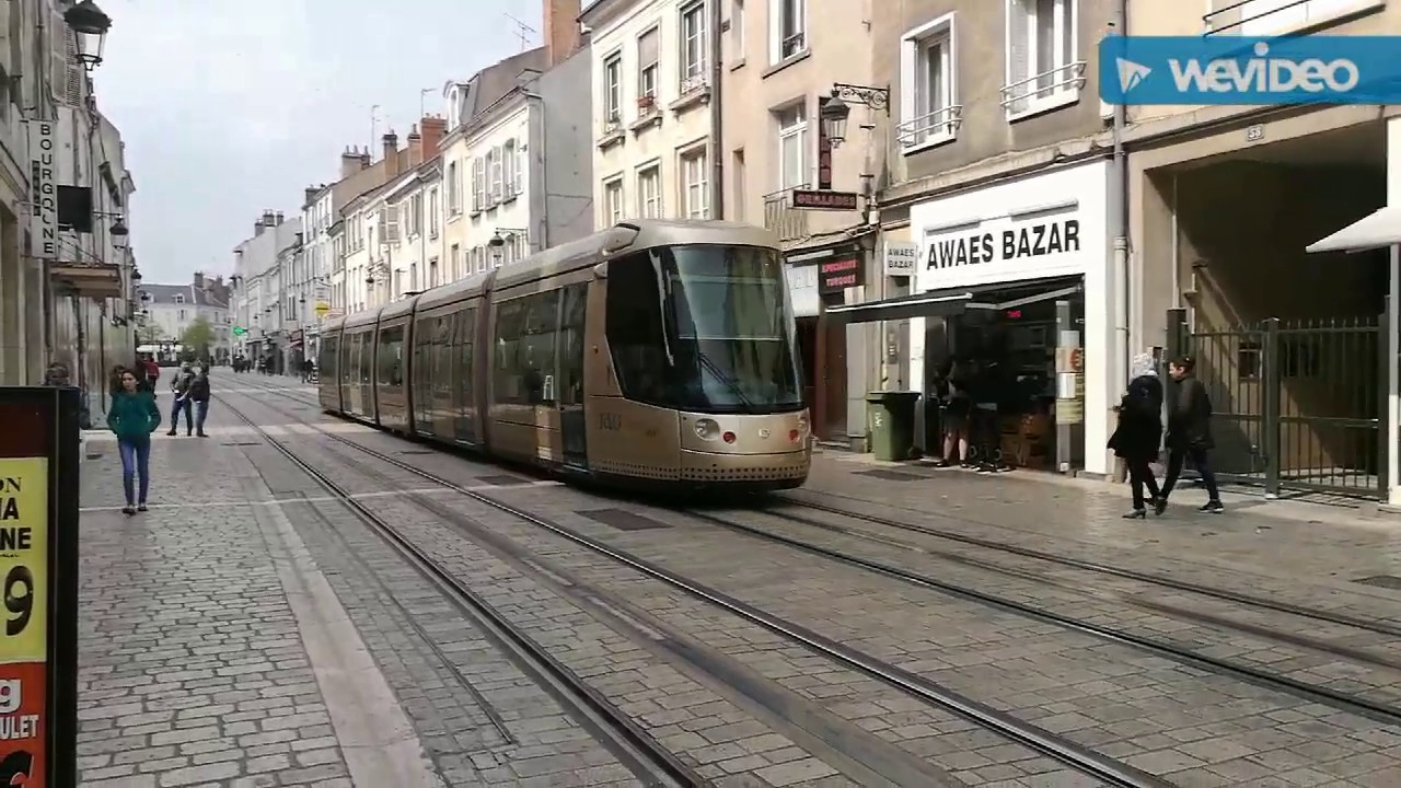 the elegant catenary less trams of orleans france youtube. Black Bedroom Furniture Sets. Home Design Ideas