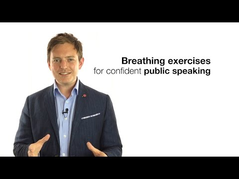 BREATHING EXERCISES FOR CONFIDENT PUBLIC SPEAKING