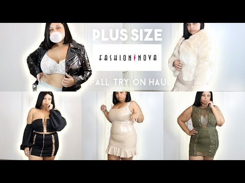 HOLD UP !! I'M A SIZE XL IN FASHION NOVA !?? FASHION NOVA PLUS SIZE FALL TRY ON HAUL