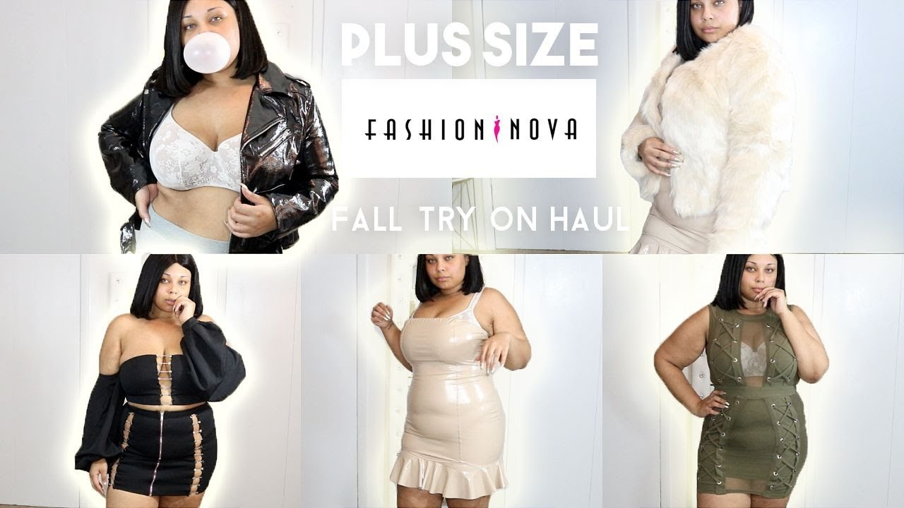 167e492b4be0e HOLD UP !! I'M A SIZE XL IN FASHION NOVA !?? FASHION NOVA PLUS SIZE FALL  TRY ON HAUL