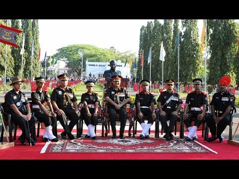 Indian Army OTA Chennai- Meiktila coy song - By Lt. Vivek Kasana