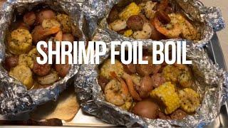 How to make A Shrimp Foil boil AKA Seafood boil
