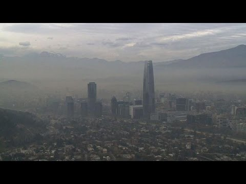 Smoggy cloud hangs over Chile's Copa America in Santiago