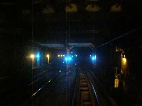NYC Subway Jamaica Line Chambers to Canal St Eastbound