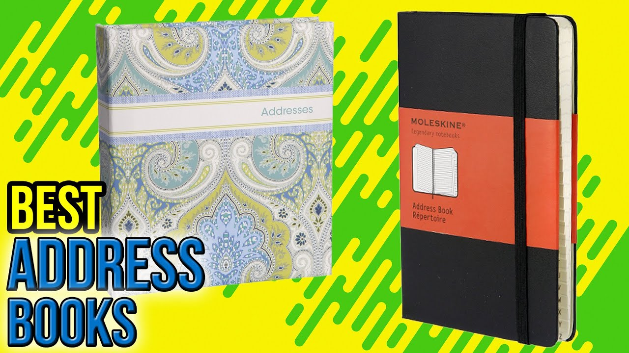 10 best address books 2017 youtube