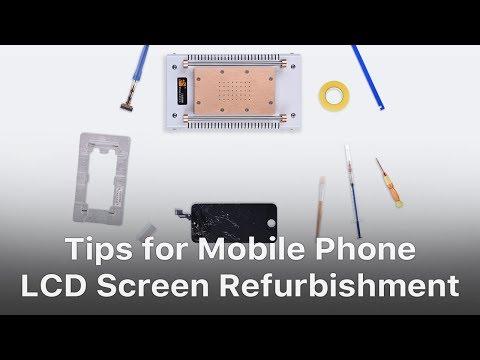 Tips for Mobile Phone LCD Screen Refurbishment