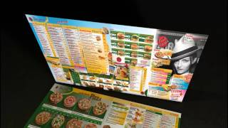 Menus (Speisekarten) for restaurants and snack shops ► (HD1080)