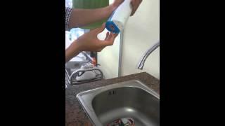 Hướng dẫn sử dụng tăm nước