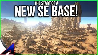 Start of the NEW Scorched Earth Base!  | Solo Official PvP Servers ARK: Survival Evolved | Ep 68
