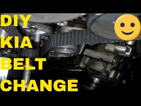 Step By Step Timing Job On A Kia Sorento Sedona Youtube