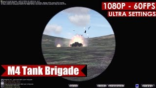 M4 Tank Brigade gameplay PC HD [1080p/60fps]