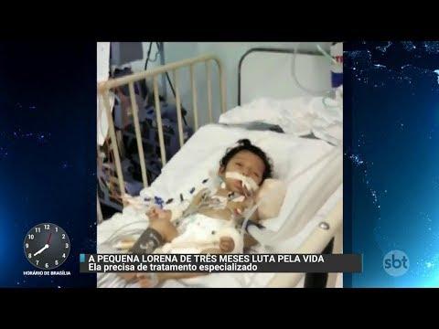 Família luta para conseguir atendimento médico para bebê de 3 meses | Primeiro Impacto (05/12/17)