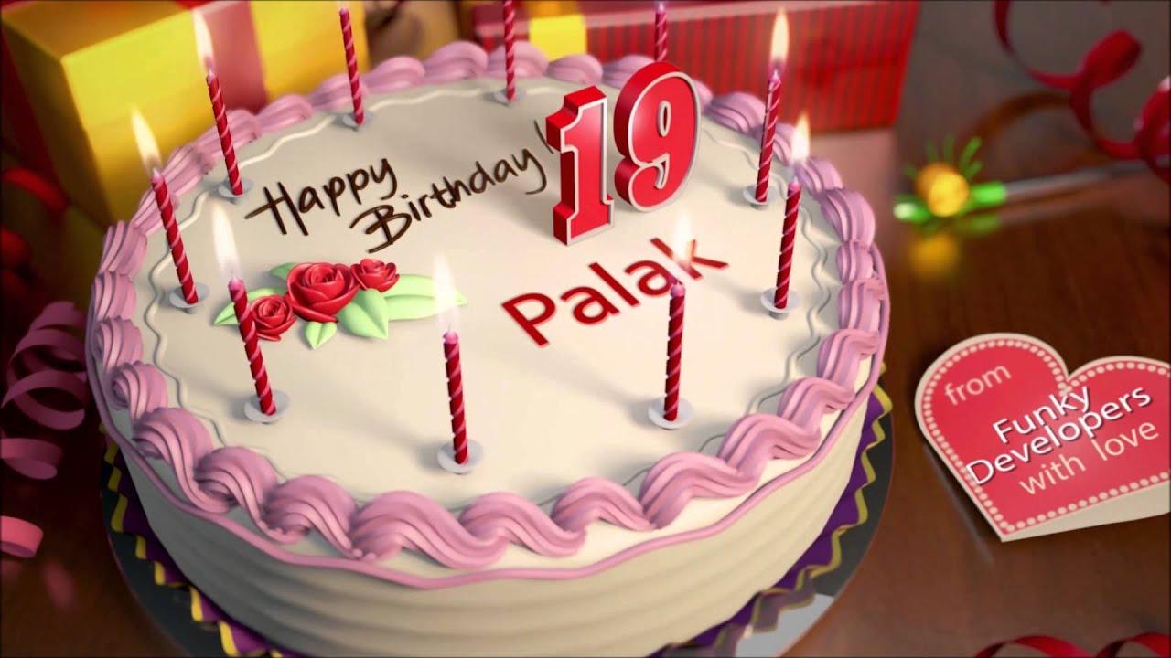 Happy Birthday Palak Youtube