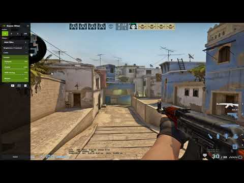 Best Nvidia Game Filter Settings For CS:GO | +Color Vibrance | +Sharpen Image | +Visibility (2020)