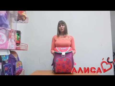 Школьный рюкзак Delune для девочки с алиэкспресс. - YouTube