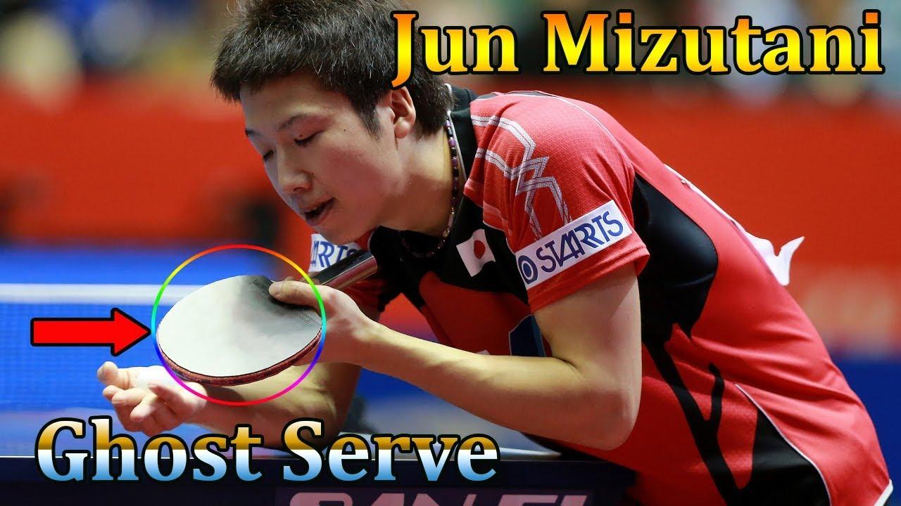Giao Bóng Trong Bóng Bàn #8 | Giao Xoáy Giật Lùi Với Jun Mizutani (Ghost Backspin Serve)