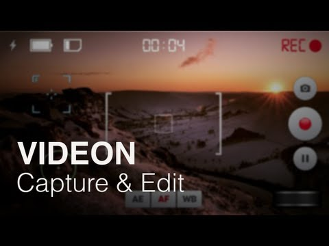 Videon: Video Capture & Editing App for iOS (Review & Demo)