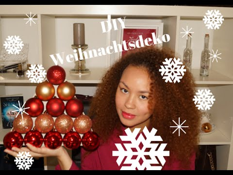3 diy weihnachtsdeko tipps youtube. Black Bedroom Furniture Sets. Home Design Ideas