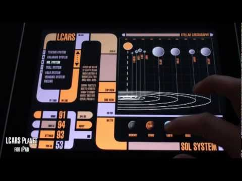 Lcars planet app for ipad youtube - Lcars ipad app ...