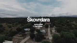 Camp Škovrdara Croatia, Novalja, island of Pag