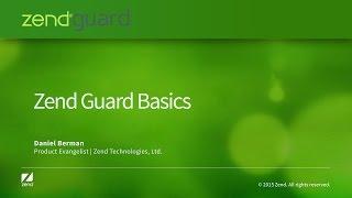 Zend Guard Basics