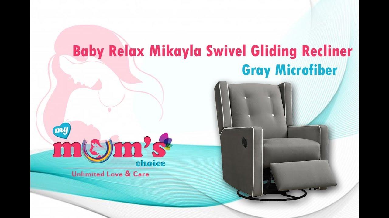 Baby Relax Mikayla Swivel Gliding Recliner Best Nursery