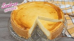 Käsekuchen - klassisch | leckeres und leichtes Rezept | Quark und Mürbeteig | Cheesecake Recipe