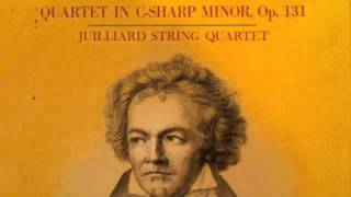 Beethoven String Quartet No.14 in C-sharp minor, Op.131 (5th Movement)