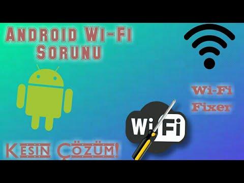 Android Telefon Wi-fi Bağlanmıyor Sorunu Kesin Çözüm - Ip Adresi Alınıyor vb - 2018