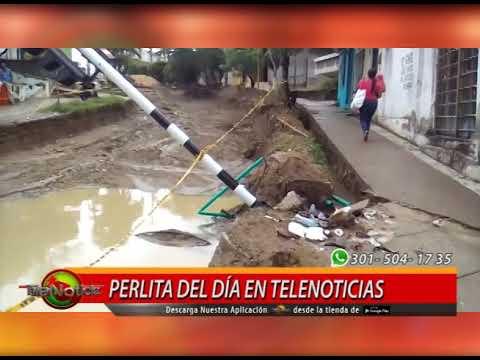 PERLITA DE DEL DÍA EN TELENOTICIAS