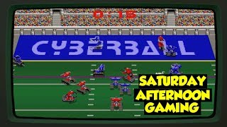 Cyberball (Arcade) - A Thanksgiving Cyber Sunday Football Spectacular! - Saturday Afternoon Gaming