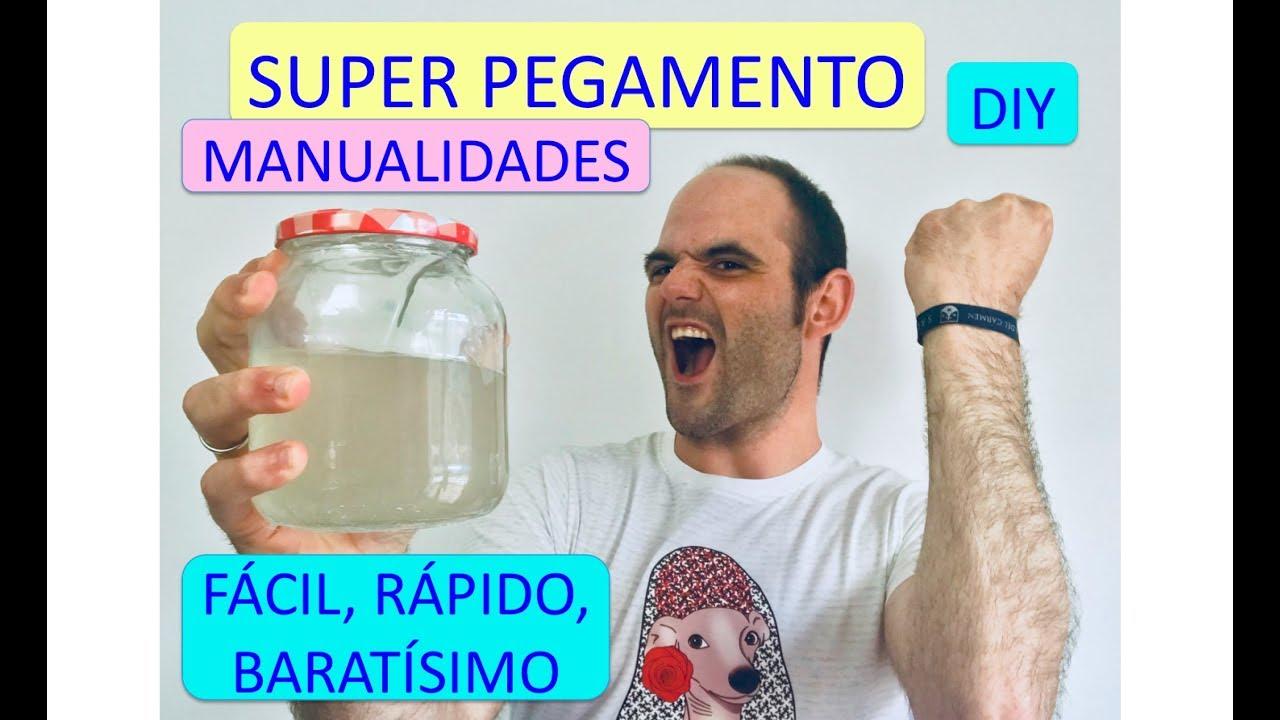 Súper Pegamento Casero Extra Fuerte Cómo Hacer Cola Casera Para Manualidades Madera Pared Youtube