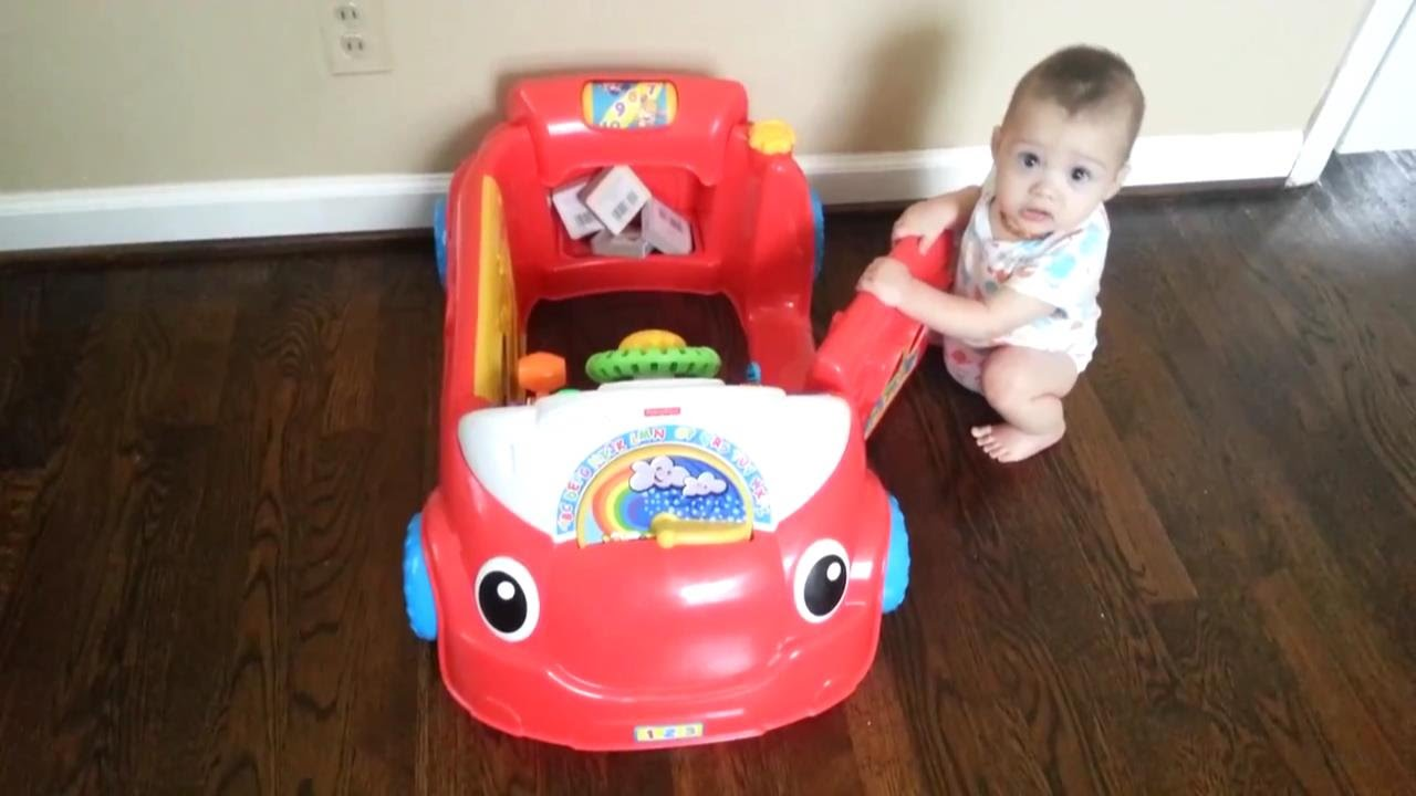Laugh & Learn® Crawl Around™ Car | Allie's Disney | Baby ...