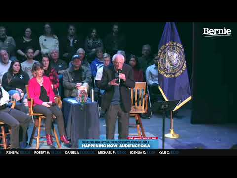 Bernie 2020 Democracy Town Hall In Concord, NH