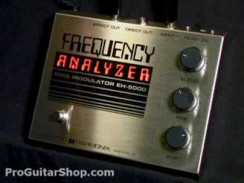 Electro Harmonix Frequency Analyzer Pedal Youtube