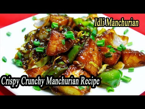 Crispy Idly Manchurian | Snack idea for Leftover Idlis | Food Recipes | Ep - 627