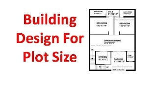 Bulding Design For plot Size