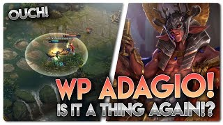 WP ADAGIO RANKED!?... Vainglory 5v5 [Ranked] Gameplay - Adagio |WP| Bot Lane Gameplay