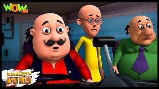 Motu Patlu Cartoons In Hindi |  Animated cartoon | Motu ki train | Wow Kidz