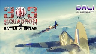 303 Squadron: Battle of Britain Demo PC Gameplay 1080p 60fps