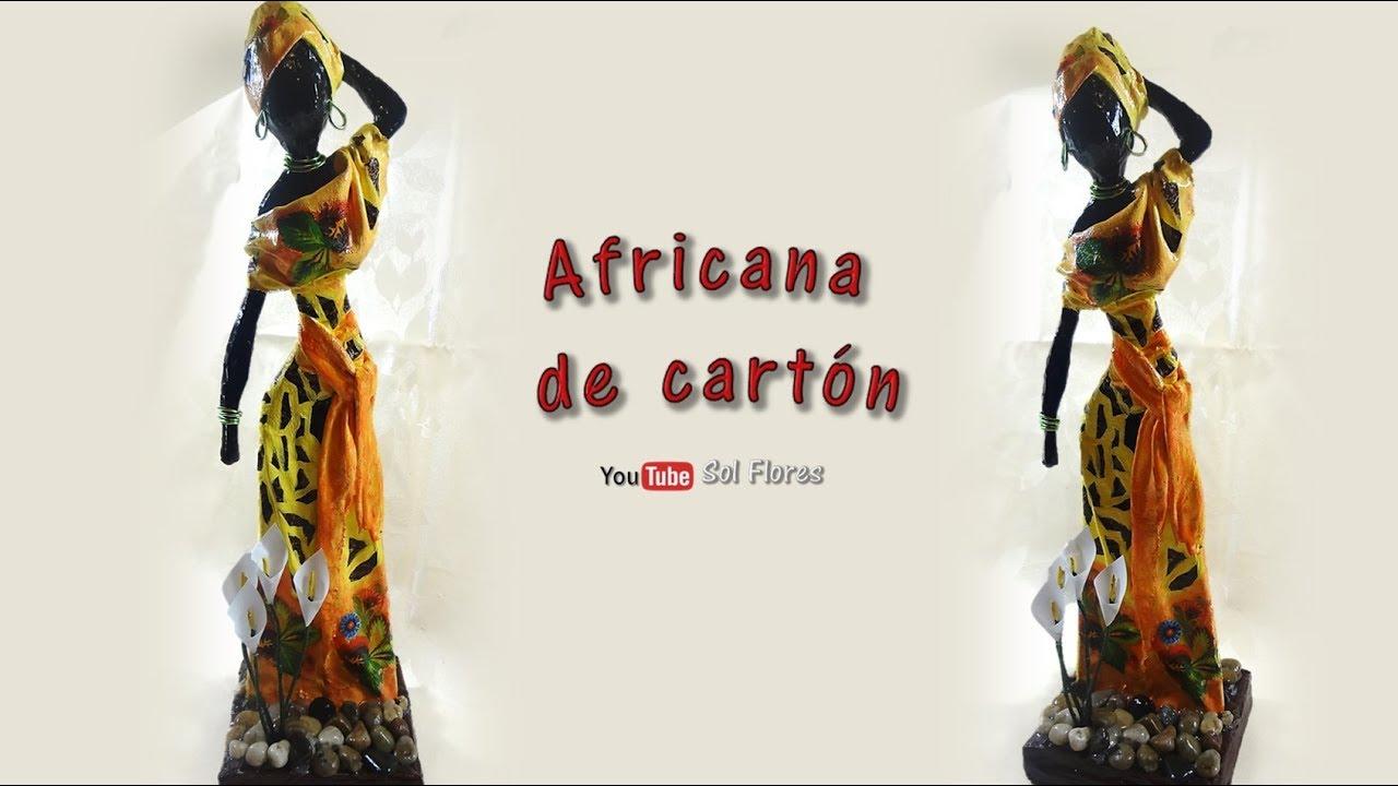 Africana De Cartón African Cardboard