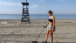 Отпуск с металлоискателем во Франции и на пляже в Испании 2020