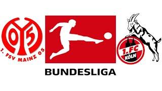 Bundesliga 11. spieltag 2020/211. fsv mainz 05 vs 1. fc köln