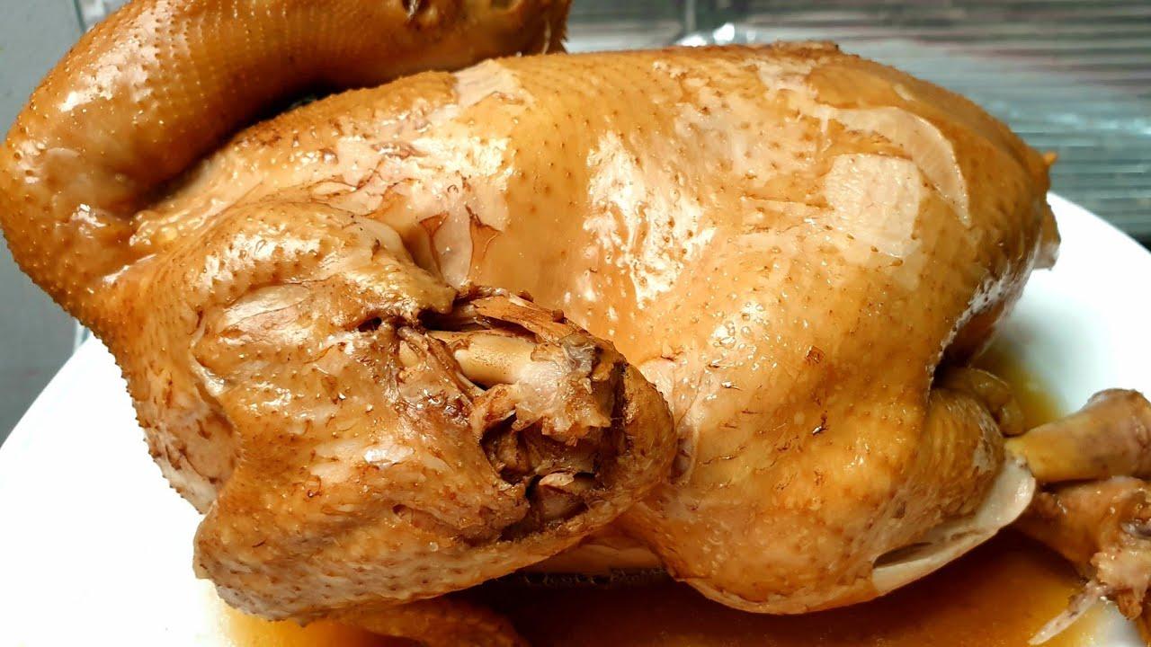 ไก่ต้มน้ำปลา สูตรต้มทั้งตัว สูตรนี้ไม่ต้องมีน้ำจิ้มก็อร่อย l อร่อยพุง #เฟิร์มอร่อยจากเม้น
