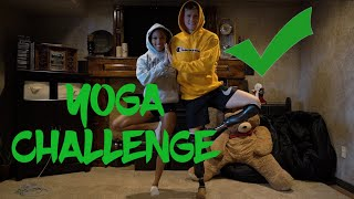 Per your request we finally did the Yoga Challenge. We had so much ...