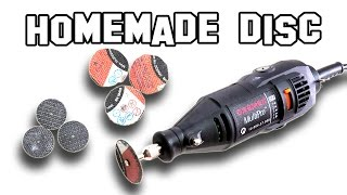 ✔ How to Make Homemade Discs for Dremel DIY thumbnail