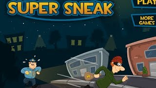 Super Sneak Level 1-19 Walkthrough