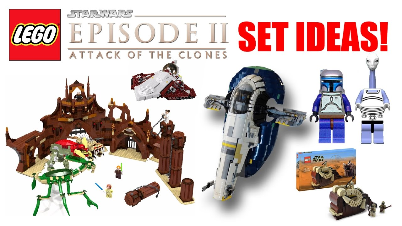 Lego Star Wars Episode 2 Attack Of The Clones Set Ideas 20172018