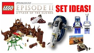 LEGO Star Wars Episode 2: Attack of the Clones Set Ideas! (2017/2018 LEGO Star Wars Set Ideas!)