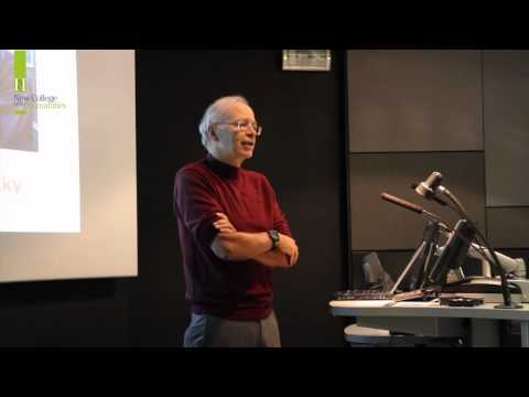 Professor Peter Singer - Ethics & Living Ethically Lecture at New College of the Humanities
